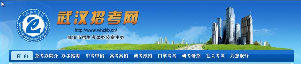 武汉招考网登陆界面