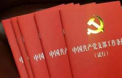 党支部工作条例学习体会