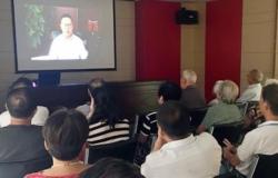 在联合党委组织生活开放日活动上的主持讲话稿3篇