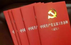 《中国共产党支部工作条例(试行)》自查整改报告3篇