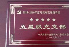 星级党支部自查自评报告3篇